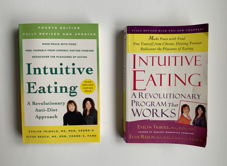 Book Review: Intuitive Eating 4th Edition
