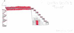 Cruella's Tower by Katherine
