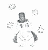 Penguin Magician by ????