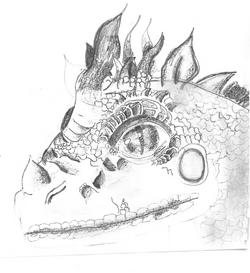 Amazing lizard by Ariel
