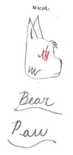Bear Paw by Nicole