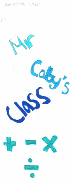 Mr. Colby's class by Katherine