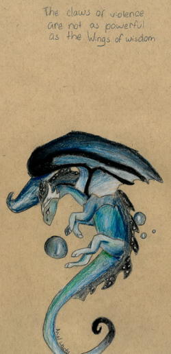 Ariel Blue Dragon