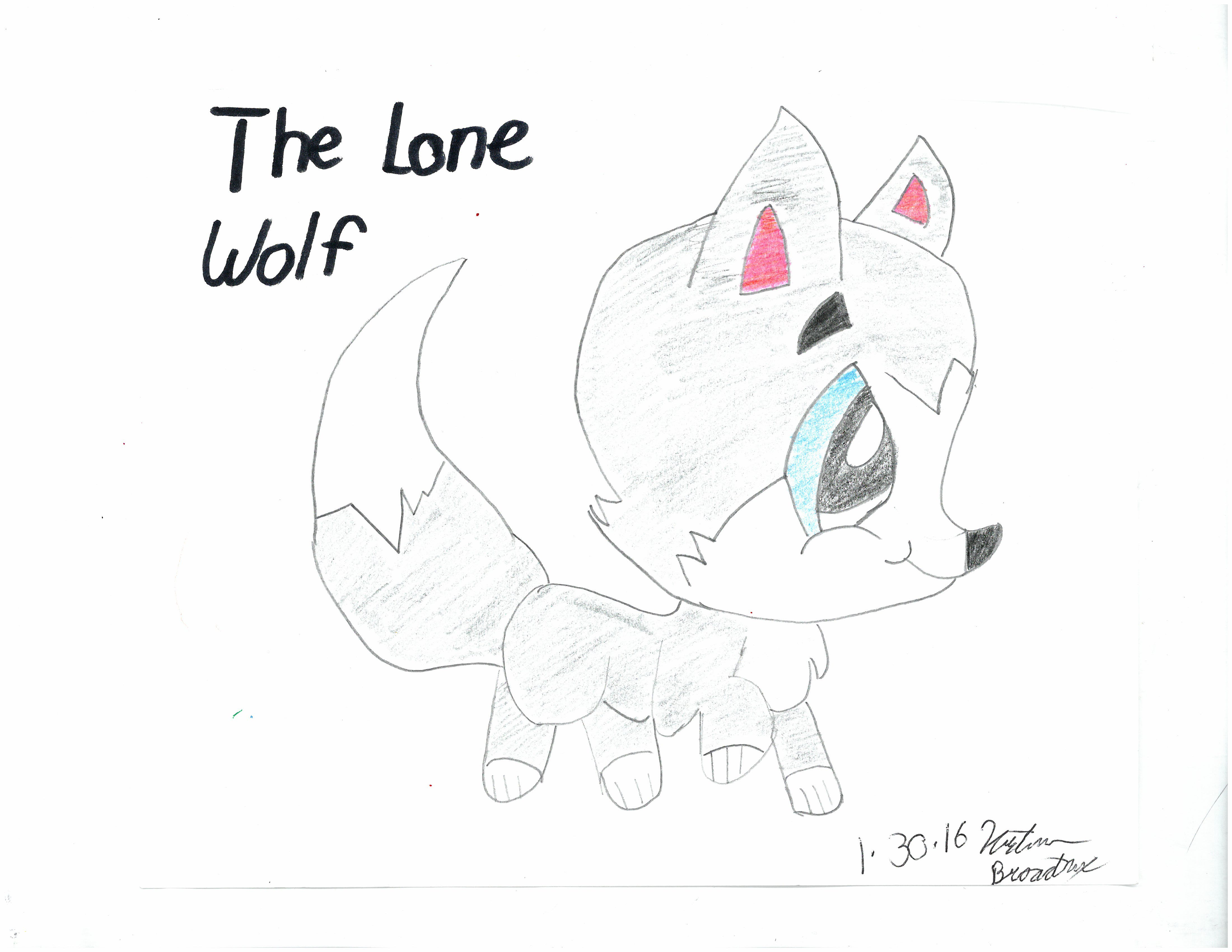 Lone Wolf by Kristianna