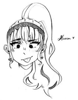girl by Hanna