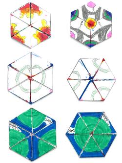 Teddy hexaflexagon