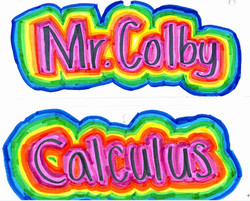Mr.Colby Calculus by Katherine
