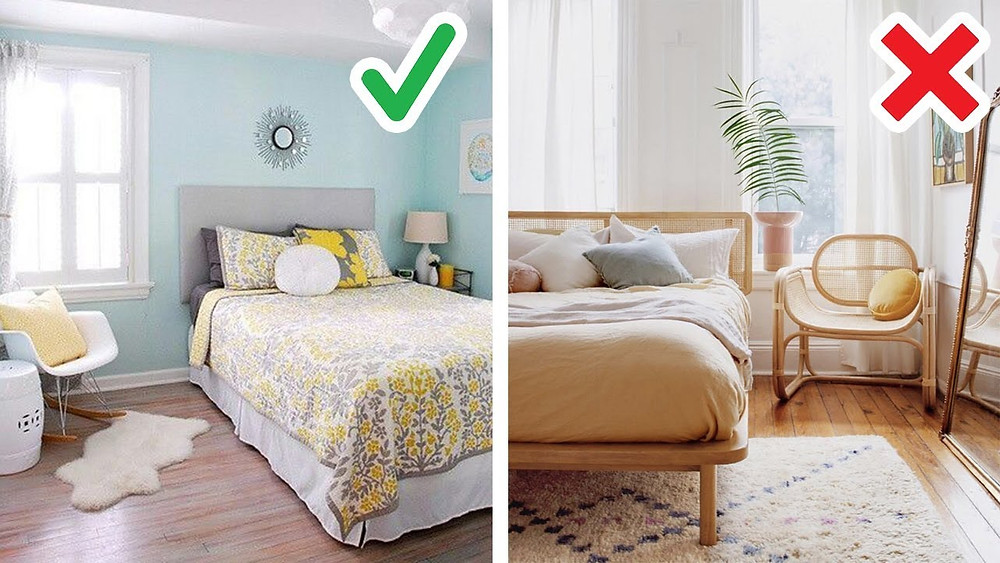 do's and don't for room decor