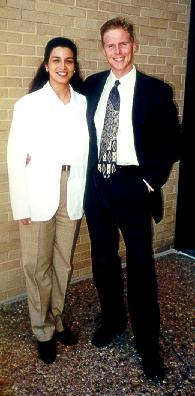 Tom & Becky, White Coat Ceremony, Galves