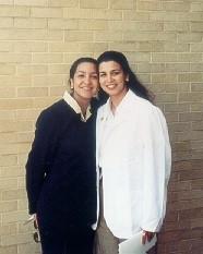 Becky & Corina, White Coat Ceremony, Gal