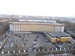 Главный фасад бизнес центра