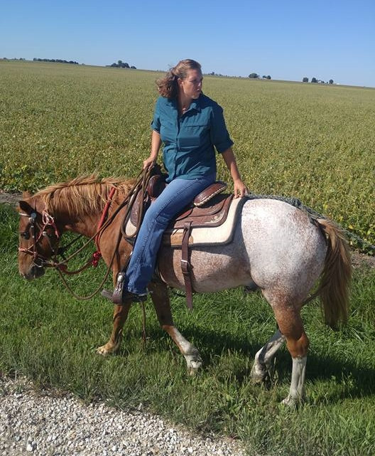 One of my last rides on Keg.