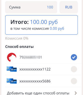 Оплата PayStore
