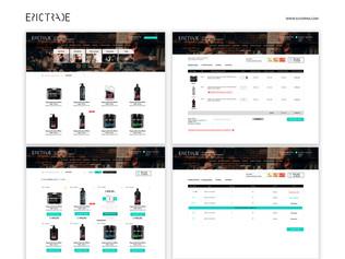 Сайт торговой компании ЭпикТрейд