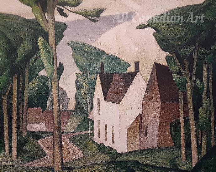 Village House (Dark Green)