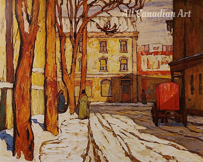 Toronto Street Winter Morning