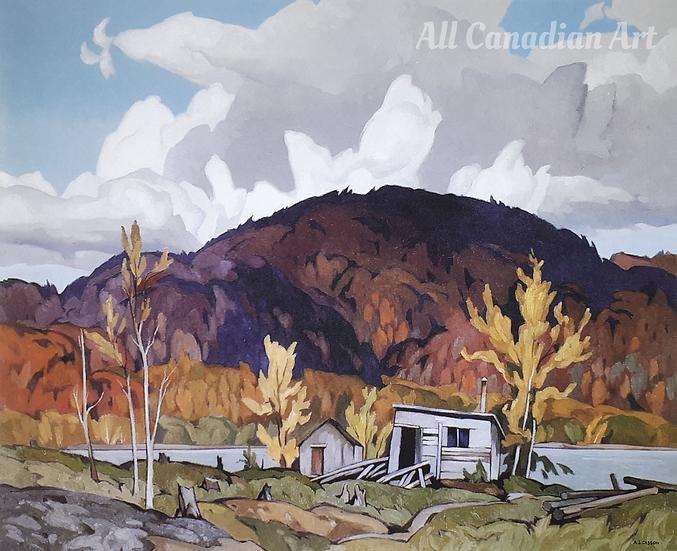 Lumberman's Cabin, Ottawa River