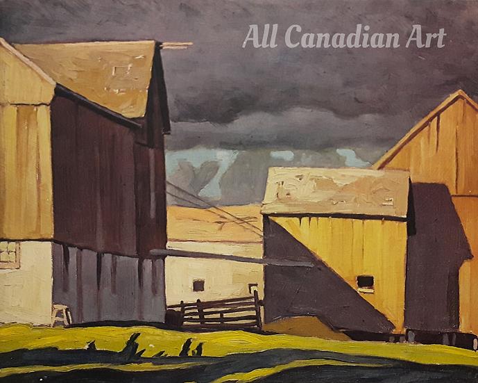 Barns at Twelve Mile Lake