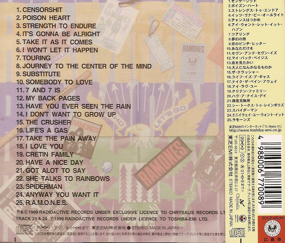 Ramonesforever Com Discography 1 Wix Com