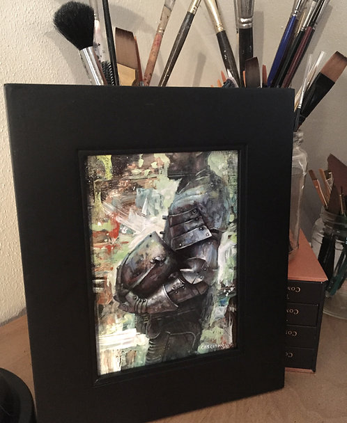 FIELD CHAMPION #2 ORIGINAL ART