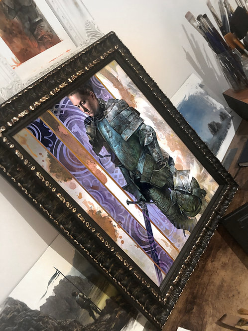 """UNSUNG HERO 4"" ORIGINAL ART"