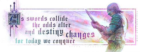 """DESTINY CHANGES"" MANUSCRIPT GICLEE´ PRINT"