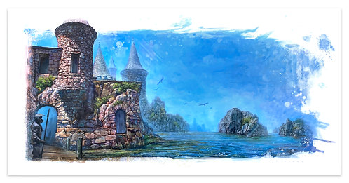 """WALLS OF MARE"" GICLEE´ PRINT"