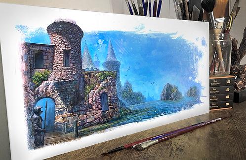 """WALLS OF MARE"" ORIGINAL ART"