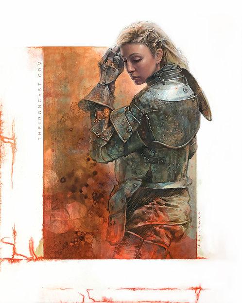 UNSUNG HERO #9 ORIGINAL ART