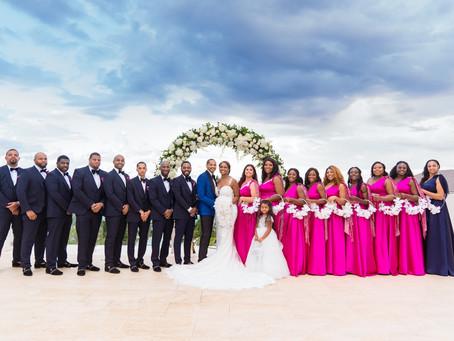 Fabiola's Custom Bridal Party