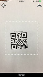 QR Code for redeeming coupons