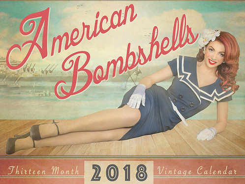 2018 American Bombshells Calendar
