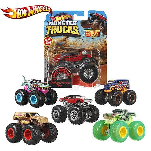 Hotwheels 1:64 Car Toy Monster Trucks Assortment Metal Kid Lover Collection FYJ4