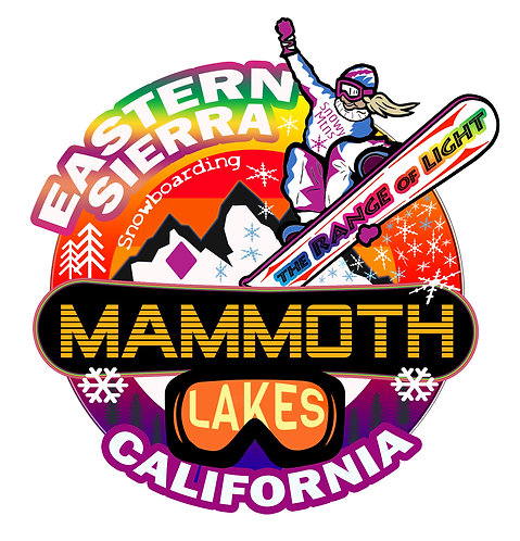 Mammoth Lakes Snowboarder
