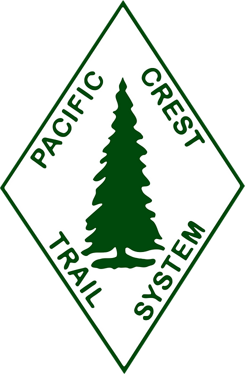 Pacific Crest Trail System Sign