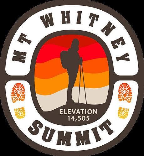 Mt Whitney Summit 14,505 Retro