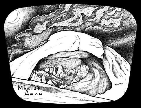 Mobius Arch, Milky Way