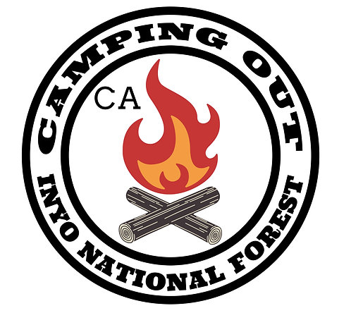 Camping out - Inyo National Forest Ca.