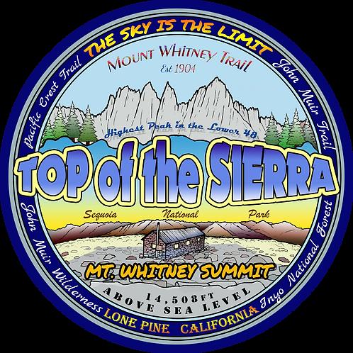 Top of the Sierra, Mt Whitney Summit