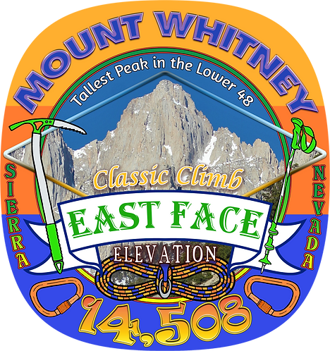 Mt Whitney East Face