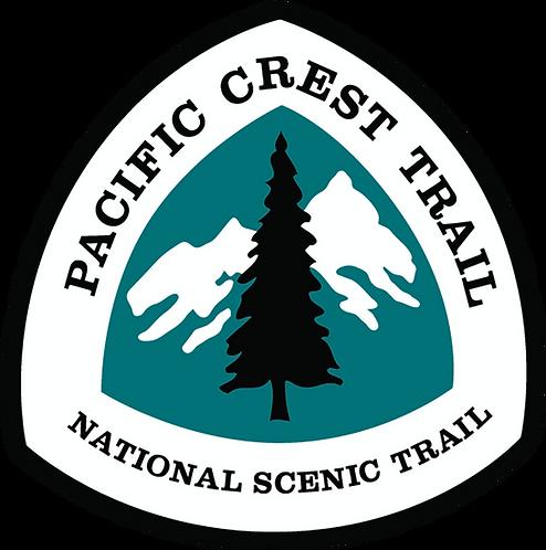 PCT - Nat'l Scenic Trail Sign