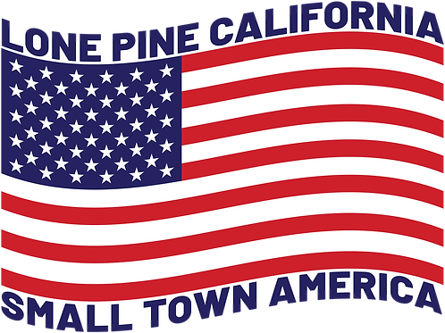Small Town America, Lone Pine Ca.