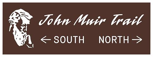 John Muir Wilderness - South North Sign