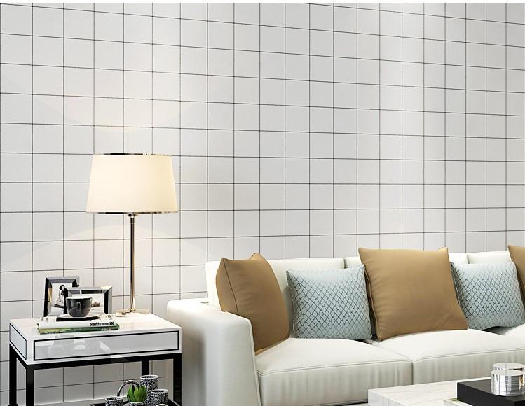 Modern Checker White