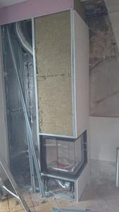 Foyer d'angle + Habillage M0