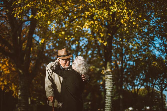 A Laura e o Zé festejaram 57 anos de casamento