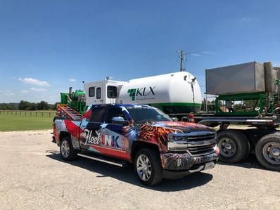 Truck Wrap - Fleet Branding