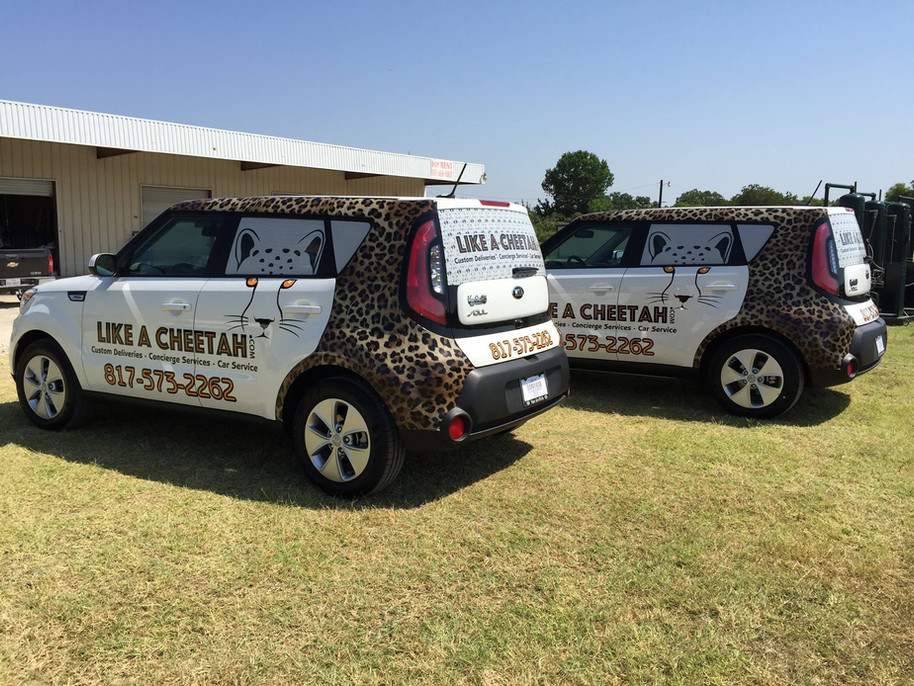 Car Wrap - Fleet Branding