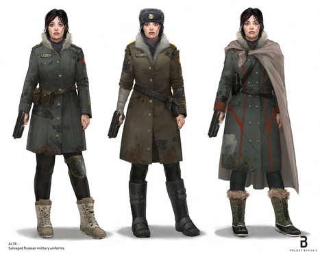 Alyx In Russian Uniform