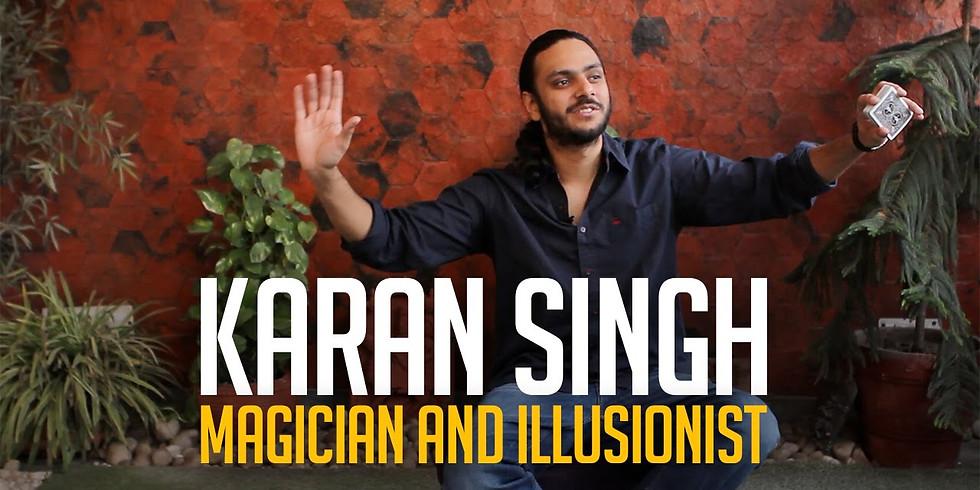 An evening of magic by Karan Singh